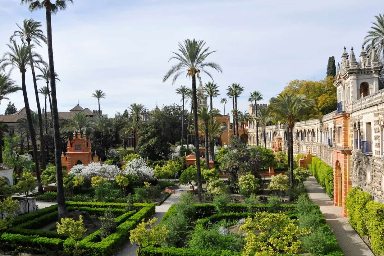 Royal Alcazar gardens